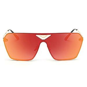 Heartisan Fashion Square Full Color Filter Oversized UV400 Unisex Sunglasses C3