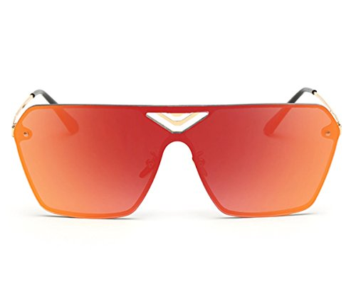 Heartisan Fashion Square Full Color Filter Oversized UV400 Unisex Sunglasses - Toronto Stores Sunglass