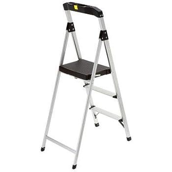 Gorilla Ladders 3 Step Aluminum Step Stool Ladder With 225
