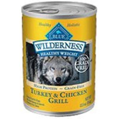 Blue Buffalo Wilderness Adult Healthy Weight Grain Free - Turkey & Chicken -  12.5 Oz, 1 Can