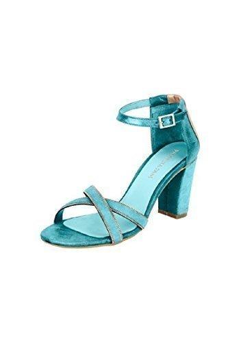 Sandalias de Patrizia Dini de piel Turquesa