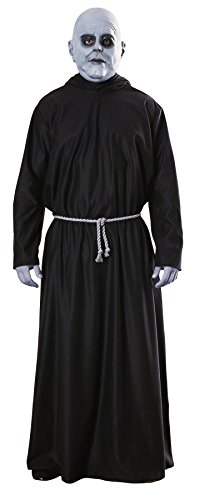 Alexanders Costumes Mens The Addams Family Uncle Fester Mask New Fancy Costume, One Size (up to 44) ()
