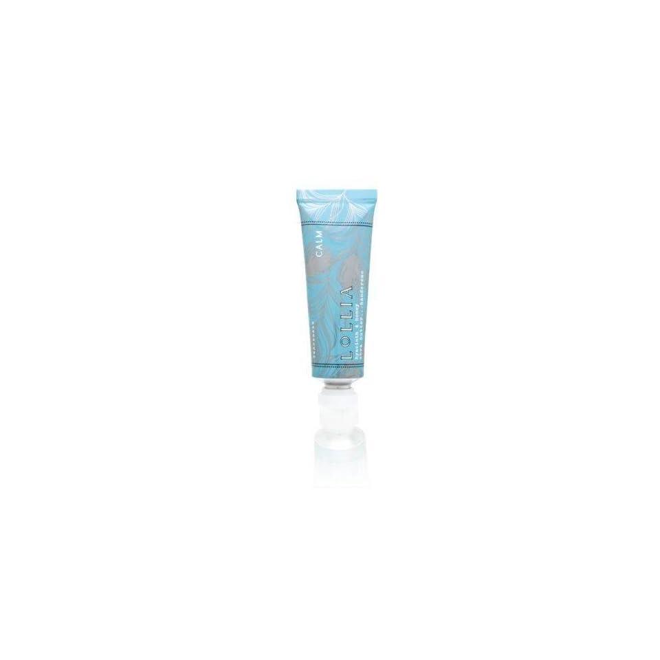 Lollia Calm No. 21 Hyacinth Honey 0.33oz Treat Shea Butter Hand Cream  Body Gels And Creams  Beauty