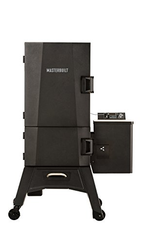 "Masterbuilt MB20250618 MWS 330B Pellet Smoker, 30"", Black"