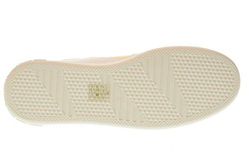Mujer Blanco PE18AN1059VL91 Zapatillas Oro Bajas FORNARINA 4pAw6Sq0y