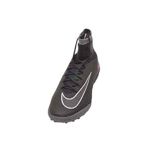 Nike Men's MercurialX Proximo Ii Tf Football Boots Black (Black/Black-dark Grey) LgcHib
