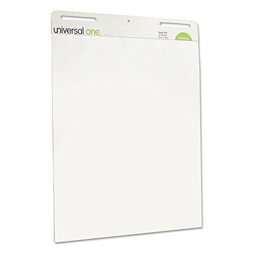 Carton Pad - Universal 35603 Self Stick Easel Pads, Unruled, 25 x 30, White, 2 30 Sheet Pads/Carton