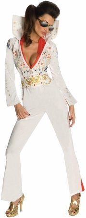 Elvis Adult Costume - Small (Woman Elvis Costumes)