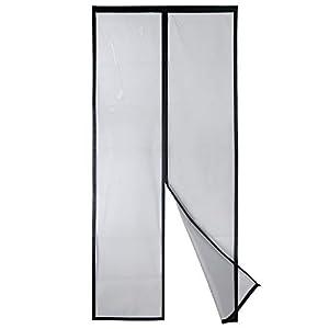 Apalus VP Magnet Fliegengitter Tür, Insektenschutz Balkontür 80x200 cm, 2 x Langlebiger als der Apalus Klassiker, Katzen…