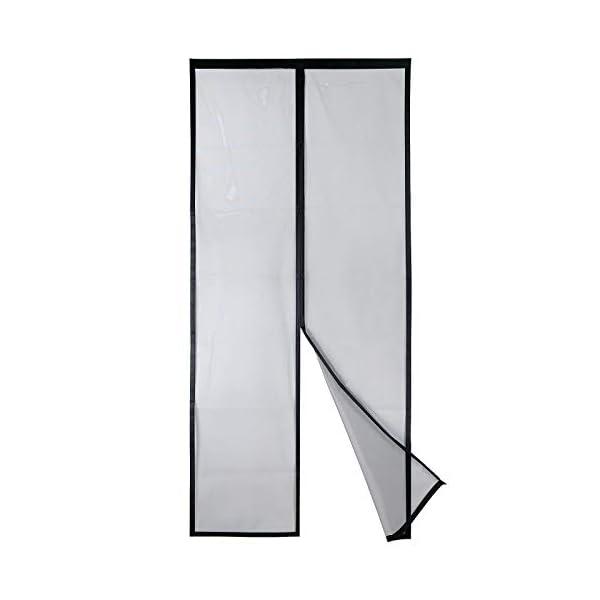 31VZT9zGlRL Apalus VP Magnet Fliegengitter Tür, Insektenschutz Balkontür 80x200 cm, 2 x Langlebiger als der Apalus Klassiker, Katzen…