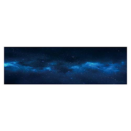 Dragonhome Background Decoration Universe Filled with Stars Nebula and Galaxy Home Decoration L23.6 x H19.6