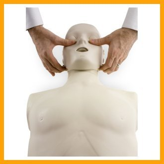Prestan Professional Adult Jaw Thrust light Skin CPR-AED Training Manikin (with CPR Monitor)
