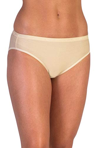 ExOfficio Women's Give-N-Go Bikini Brief - Large - Nude -