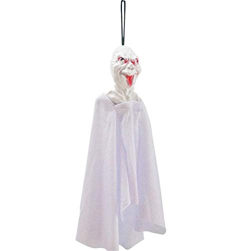 HENWERD Halloween Party Decoration Scary Ghost Bar Window Home Garden Hanging Decor (C)