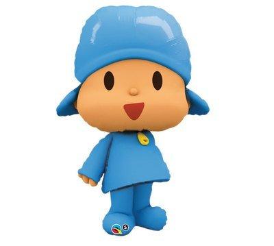 POCOYO Pocoy Blue Large Figure 42 Happy Birthday PARTY Supplies Mylar BALLOON by Lgp
