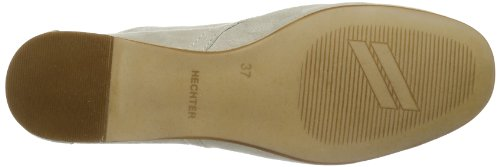 Daniel Hechter La Baule HJ39223G - Botas de cuero para mujer, color azul, talla 37 Gris (Grau (taupe 182))