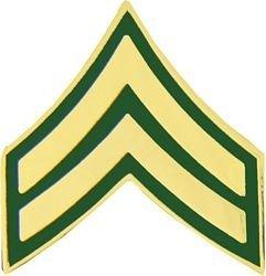 US Army E-4/CPL Lapel Pin or Hat Pin - Us Army Veteran Hat Pin