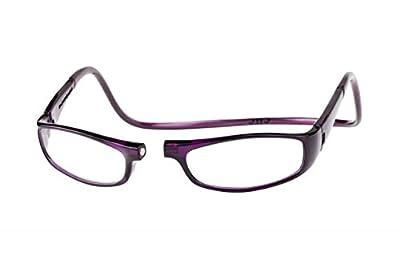 Clic Magnetic Euro Reading Glasses in Purple