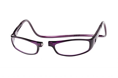 Clic Magnetic Euro Reading Glasses in Purple - Euro Glasses