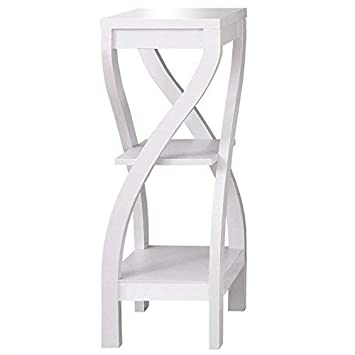 Monarch Specialties I 2479 Accent Table, 32 , White
