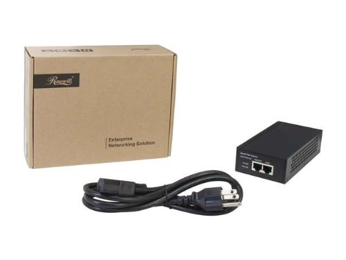 Rosewill Gigabit Metal PoE Injector, Support up to 40W and Delivers up to 100 Meters (328ft) and IEEE 802.3af & 802.3at Compliance, for IP Cameras, Wireless AP, VoIP Phones and more (RNWA-PoE-1000) by Rosewill (Image #4)