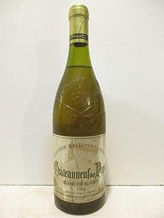châteauneuf du pape raymond usseglio blanc de blancs blanc 1989 - rhône