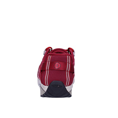 MBT Sneakers Donna 38 EU Rosso Pelle Tessuto