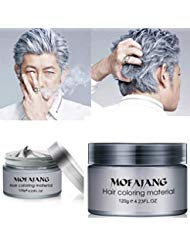 MOFAJANG Natural Hair Wax Color Styling Cream Mud,