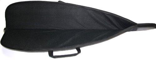 Gewehrtasche 123cm Farbe: Schwarz / Innen:Schaumstoff / Aussentaschen
