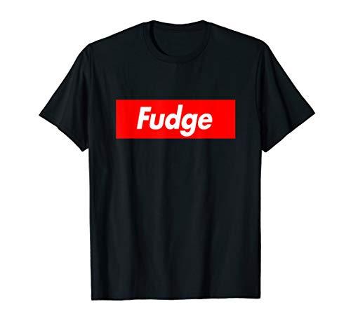 Fudge Parody Box Logo Style Funny - Apparel Fudge