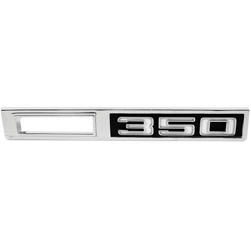"""(Trim Parts 4607 1969 Chevelle Front Marker Light Bezel, """"350"""")"""