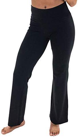 Spalding Activewear Pantalón de Yoga de Talle Alto Pantalones para Yoga para Mujer 3