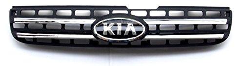 Front Radiator Grill Black Genuine (OEM):
