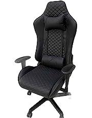 Gaming Chair - Diamonds - Black