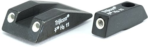 Trijicon Taurus 3 Dot Green Front & Orange Rear Night Sight set for models PT111, PT132, TS01O by Trijicon