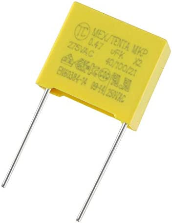Uxcell a14111900ux0193 CBB22 400V 105J 1uf 5/% Tolerance Through Hole Polypropylene Film Capacitors