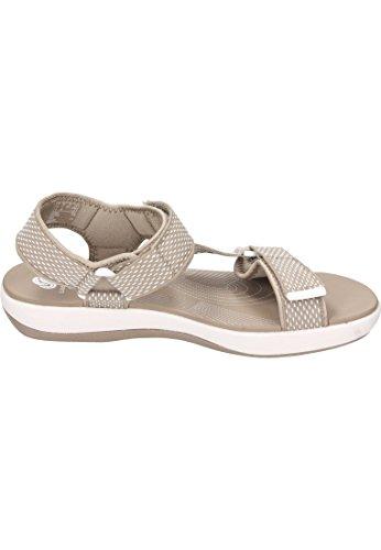 Clarks Damen Sandale Beige