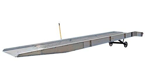 Vestil AY-209336-L Aluminum Yard Ramp, 20000 lb. Capacity, 432