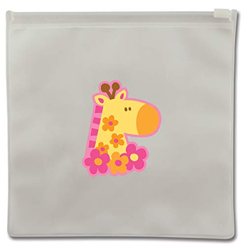 (Stephen Joseph SJ103155 Reusable Snack Bag, Giraffe)