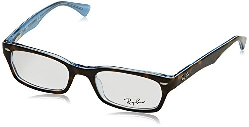 Ray-Ban Women's 0RX5150 50mm Top Havana/Transparent Blue Reading - Glasses Reading Ban Ray Women