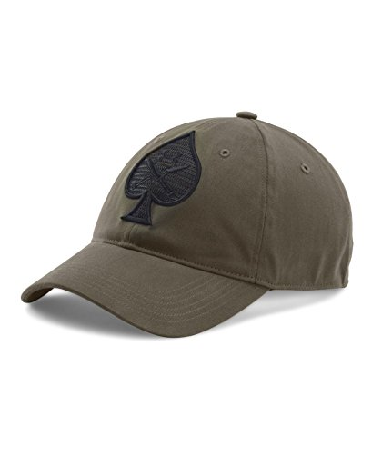 Under Armour Men's Tactical Spade Cap, Marine Od Green/Black