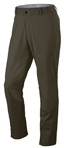 Nike Mens Modern Tech Woven Golf Pants Khaki/Grey 34W/32L 725682-325 by NIKE