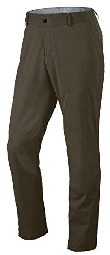 Nike Mens Modern Tech Woven Golf Pants Khaki/Grey 34W/32L 725682-325 by NIKE