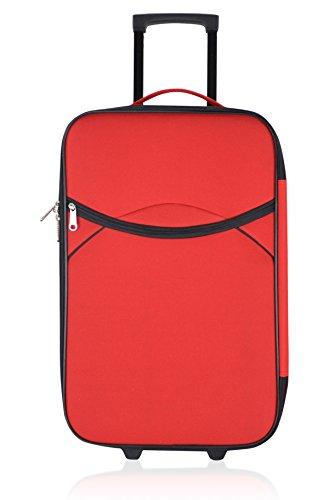 UNANYME GEORGES RECH Trolley semirrígido Nice Rojo 70 cm