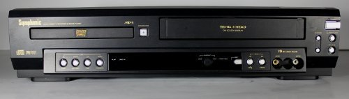 (Symphonic SD7S3 DVD Player with Video Cassette Recorder)