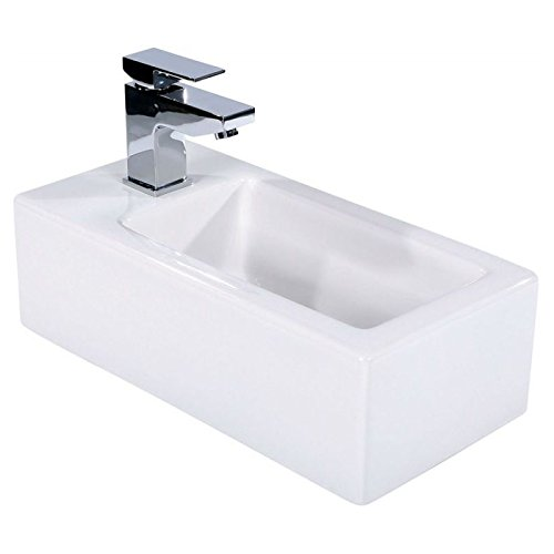 Froma Rectangle Wall Hung Cloakroom Basin The Bath People