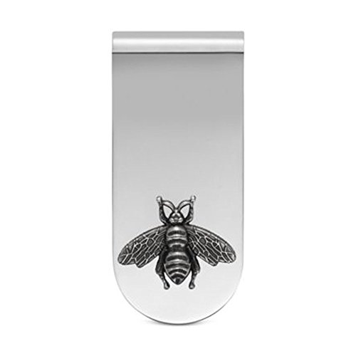 dc49e4c5bab8 Gucci Men's Bee Money Clip Silver One Size for sale Delivered anywhere in  USA