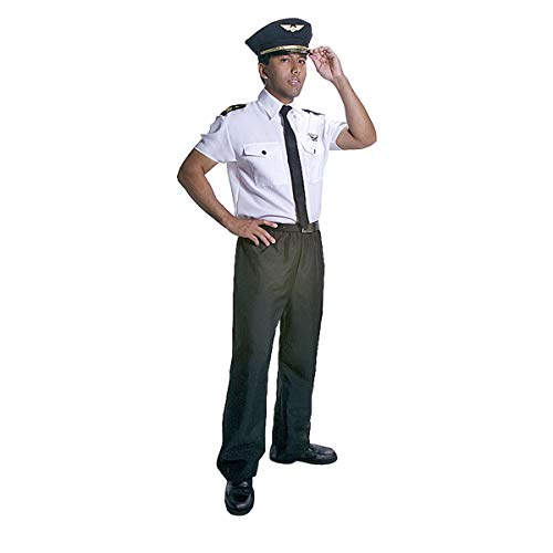 Dress Up America Adults Deluxe Pilot Costume - Small ()