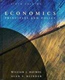 Economics : Principles and Policy, Baumol, William J. and Blinder, Alan S., 0030974526