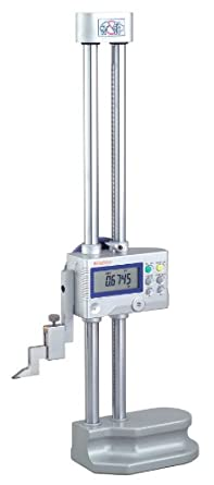 """Mitutoyo 192-630-10 LCD Digimatic Height Gage, 0-12"""" Range, 0.0005""""-0.0002"""" Resolution, +/-0.001"""" Accuracy, 4.7kg Mass"""